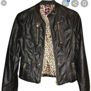 2B Bebe Faux Leather Jacket